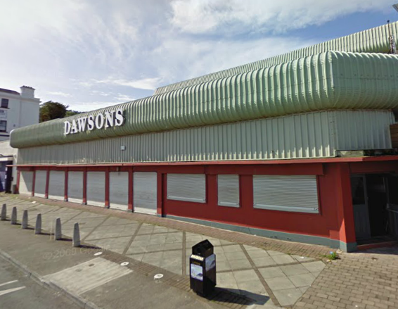 Dawson's amusement arcade, Bray